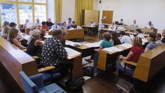Wer wild bald mitdiskutieren? Am 21. Mai werden in Solothurn neue Gemeinderäte gewählt.
