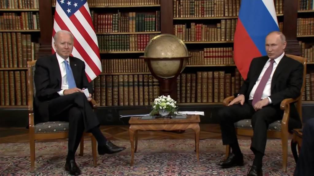 Biden und Putin in Genf: Wenig Annäherung am historischen Treffen