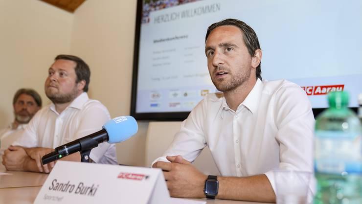 FCA-Sportchef Sandro Burki erklärt den Trainerwechsel.