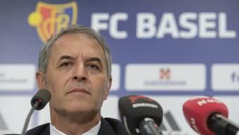 Marcel Koller ist neuer FCB-Cheftrainer