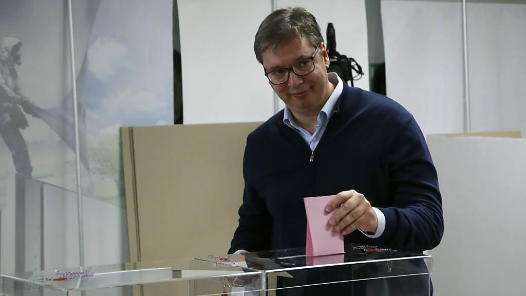 Parlamentswahl in Serbien stärkt die Macht von Präsident Vucic