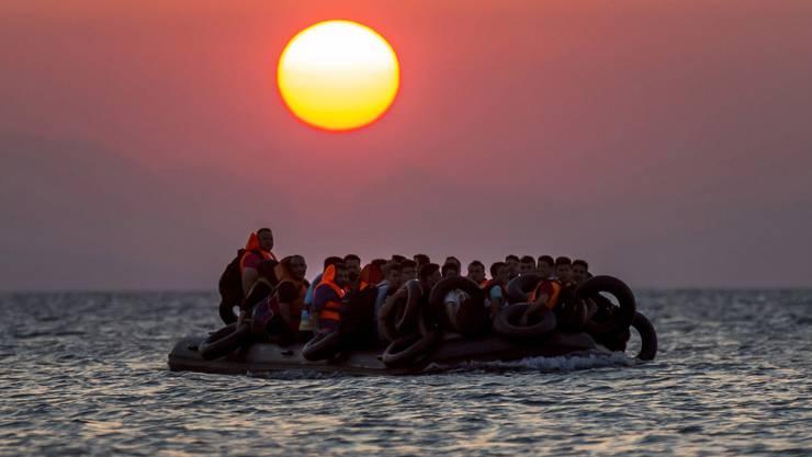 Die Zahl der Flüchtlinge, die täglich auf der griechischen Ferieninsel Kos ankommen, steigt stetig.