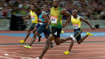 Usain Bolt kommt langsam in Form