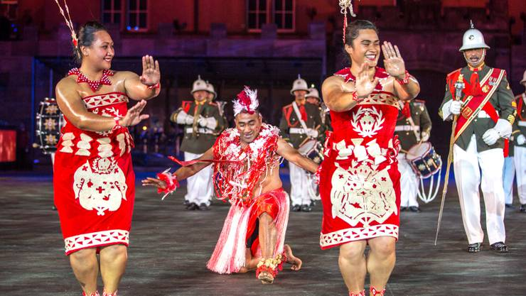 Royal Corps of Musicians, Tonga.