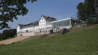 Baustellenbesichtigung Kurhaus Weissenstein Juli 2019