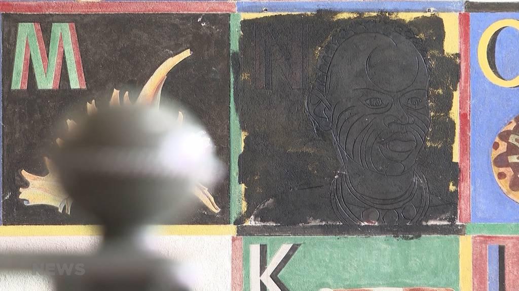 Schulhaus Wylergut: «Rassistisches» Wandbild überschmiert