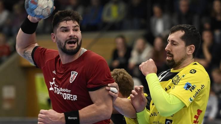 Der 27-jährige Tscheche hat seinen Vertrag beim HSC Suhr Aarau per Mitte Oktober aufgelöst und ist zudem am Ringfinder verletzt.