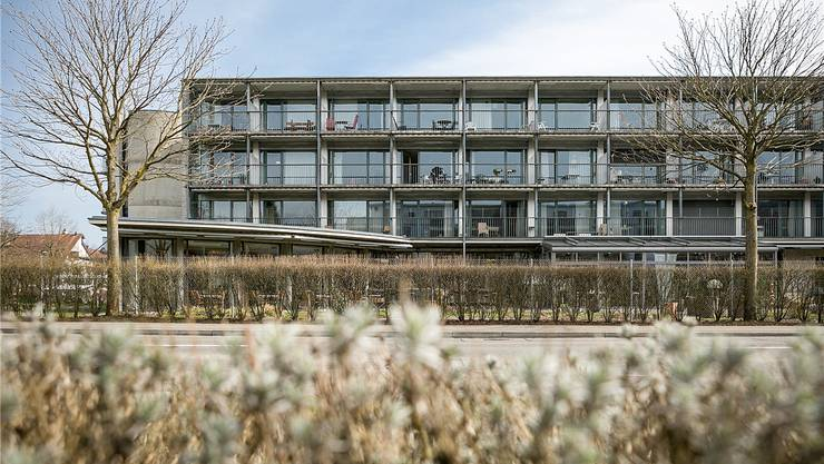 Das Pflegeheim Haus Eigenamt in Lupfig hat turbulente Zeiten hinter sich. Letztes Jahr betrug die Bettenauslastung 96,5 Prozent. Sandra Ardizzone/Archiv AZ