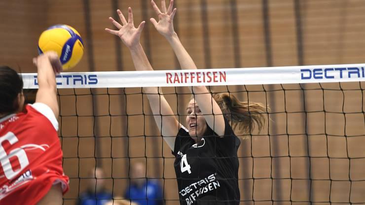 Für Lisa Adler (r.) und Kanti Baden geht es in dieser Saison um den Ligaerhalt.