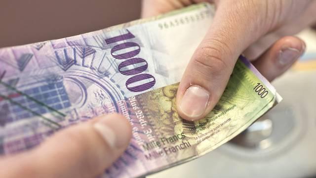 Nach vorläufigen Angaben halten etwa 150 Bulgaren 300 Millionen Euro auf Bankkonten in der Schweiz (Symbolbild)