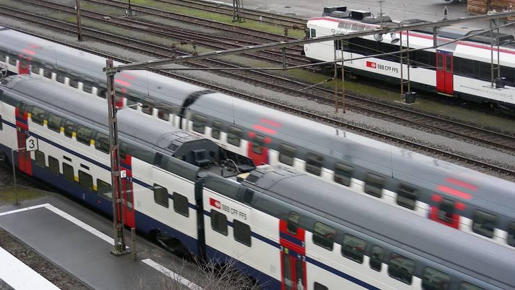 Zwischen Wettingen und Brugg fallen Regio-Züge aus. (Archiv)