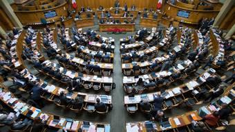 Die Links-rechts-Positionierungen unserer Aargauer Nationalrats-Mitglieder hat sich teils markant verändert. (Archivbild)