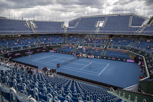 Bei den US Open wird unter Ausschluss der Öffentlichkeit gespielt.