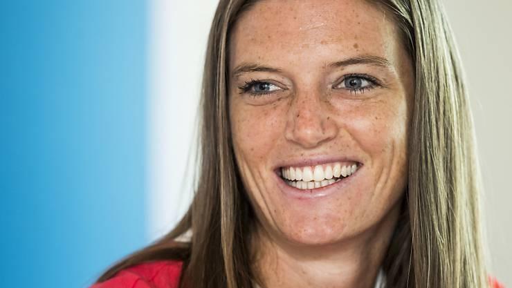Lea Sprunger mit dem Lächeln einer Europameisterin?