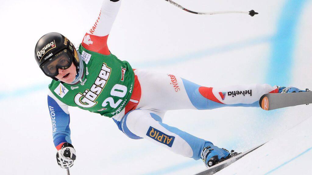 Trainingsschnellste: Gut-Behrami beginnt in St.Anton wie 2013