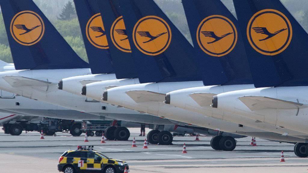 Erneut grösste Fluggesellschaft in Europa: Lufthansa verbuchte auch 2018 wahrscheinlich mehr Fluggäste als der 2016 noch führende Billigflieger Ryanair. (Archiv)