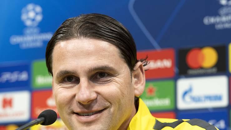 YB-Trainer Gerardo Seoane gibt sich vor dem Auswärtsspiel in der Champions League in Valencia optimistisch