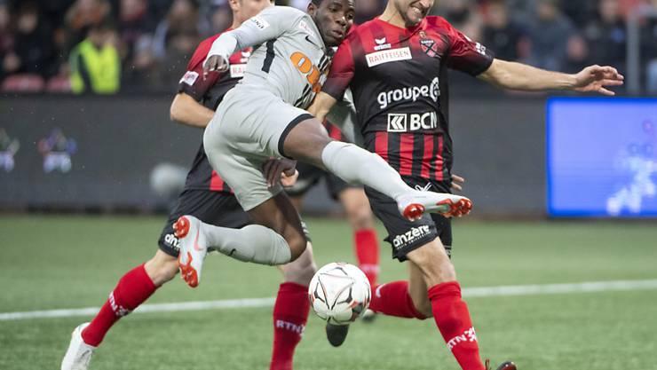 Roger Assalé sorgte mit dem vierten Treffer in der Maladière für den letzten Treffer der Young Boys des höchst erfolgreichen Jahres 2018