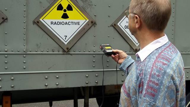 Messung von radioaktiven Strahlen wird an NAZ gemeldet (Symbolbild)