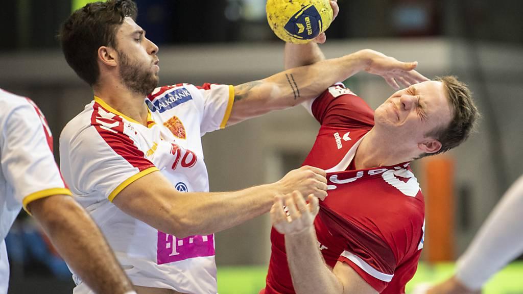 Herber Rückschlag für die Schweizer Handballer