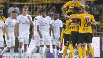 Jubelnde Berner, hängende Köpfe beim FCZ: YB lässt dem FCZ in Bern keine Chance