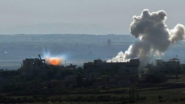 Syrien wird von heftigen Kämpfen erschüttert (Archiv)