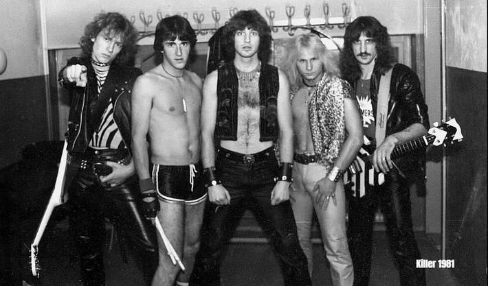 So sah das noch ganz zu Beginn aus: Killer im Jahr 1981.