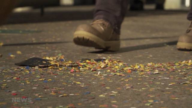 Freud und Leid über Konfetti-Regen an Thuner Fasnacht