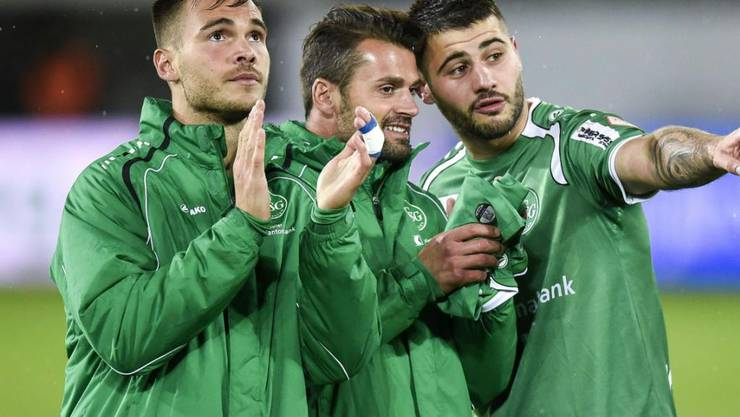 Goran Karanovic (links), hier noch in seiner Zeit mit dem FC St. Gallen