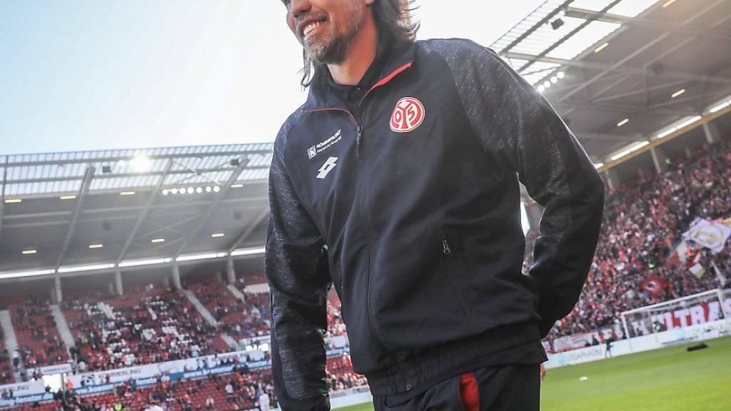 Der Walliser Martin Schmidt trainert seit 2014 den Bundesligisten Mainz 05