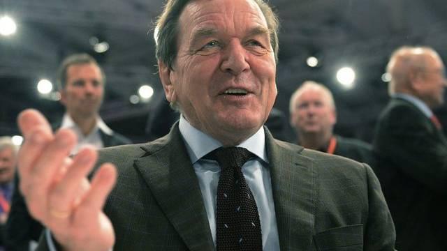 Ex-Kanzler Schröder am SPD-Parteitag am 9. Dezember (Archivbild)