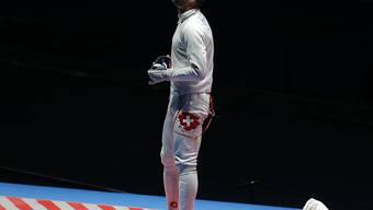 Benjamin Steffen fehlte wie bei Olympia in Rio im Degen-Einzel nur ein Sieg zum WM-Medaillengewinn