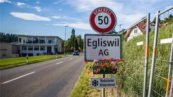 Dorfeinfahrt von Egliswil