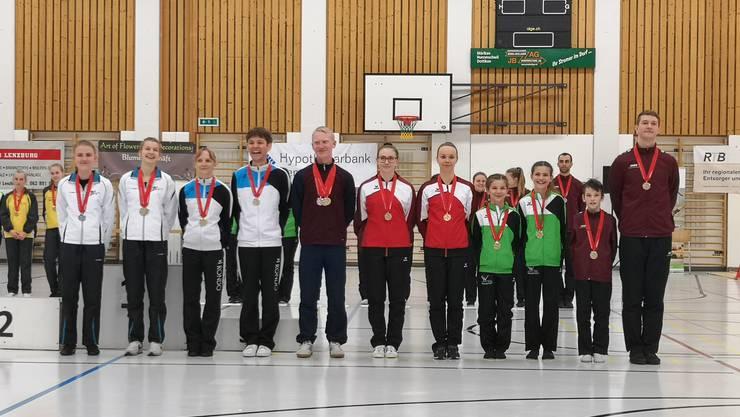 Alle Schweizermeister gemeinsam