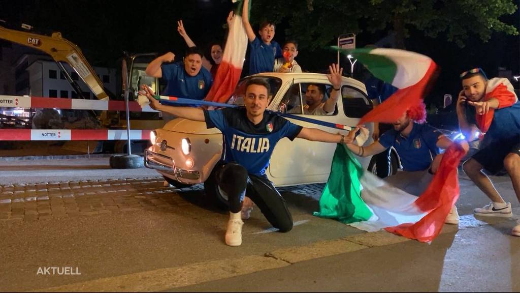 Nach 0:3-Schlappe: Italiener feiern, Schweizer kritisieren Nati