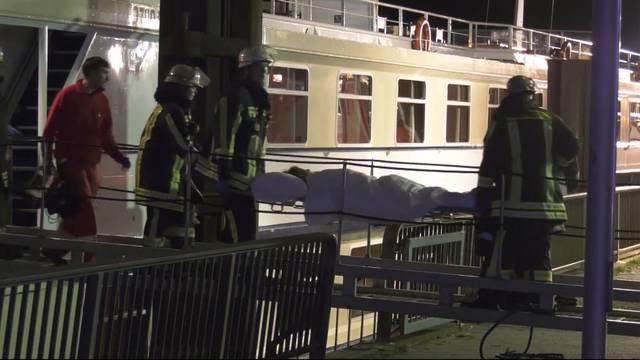 27 Verletzte nach Hotelschiff-Kollision
