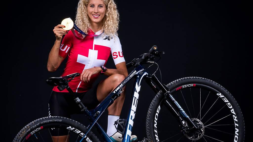 Olympiasiegerin Jolanda Neff