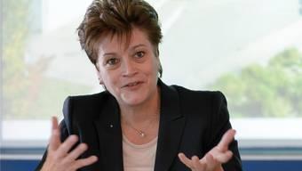 Hat Strafanzeige gegen unbekannt eingereicht: Silvia Steiner (CVP).