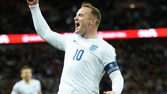 Wayne Rooney schoss England in der 6. Minute mit 1:0 in Front