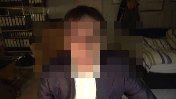 Der Attentäter Tobias R. in seinem Video