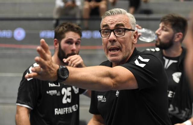 Trainer Samir Sarac steht seit dieser Saison beim TV Möhlin an der Seitenlinie.