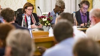 Im Kreuzfeuer der Kritik: der Gemeinderat von Vevey, insbesondere die beiden Mitglieder Michel Agnant und Jérôme Christen (Zweiter und Erster von Rechts).