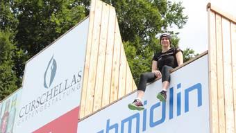 Will wieder hoch hinaus: Die Urdorfer Skiakrobatin Tanja Schärer ist nach ihrer neunmonatigen Verletzungspause wieder voller Tatendrang.