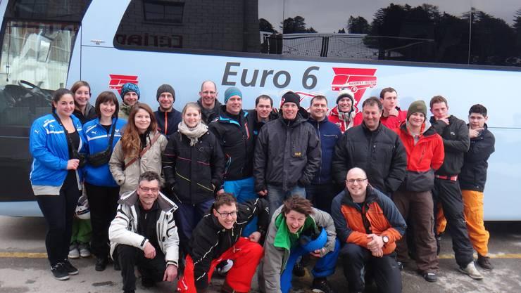 TSV Gansingen vor der Heimreise