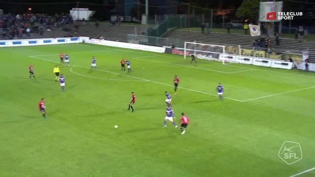 Highlight FC Aarau - FC Schaffhausen: 87. Olivier Jäckle 3:1