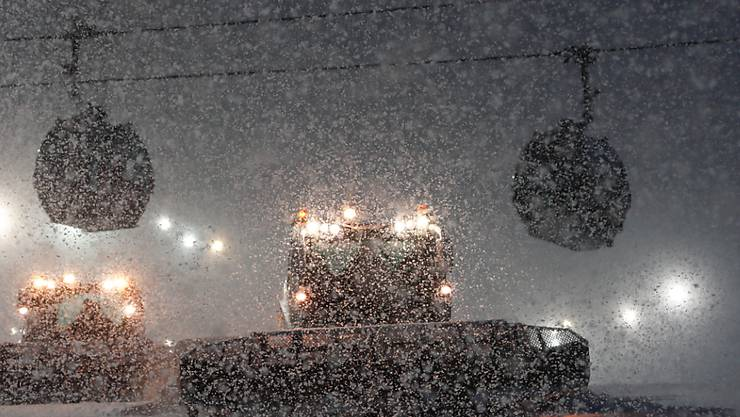 Das Wetter in Rosa Chutor liess am Samstag kein Rennen zu