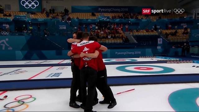 Curler holen 13. Olympia-Medaille