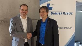 Präsident Philipp Hadorn (rechts) und Geschäftsführer Matthias Zeller