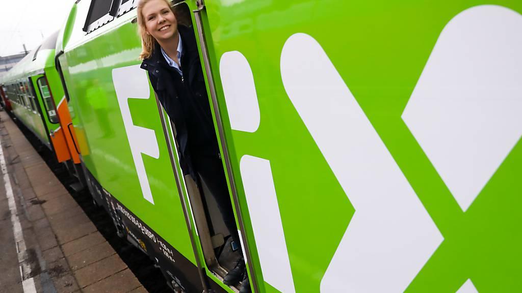Die grünen Flixtrain-Züge sollen nach Deutschland bald auch in Schweden unterwegs sein. (Archivbild)