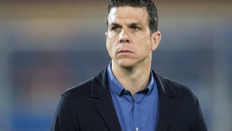 Glücklich sieht anders aus: Kriens-Coach Bruno Berner verbirgt seine Stimmung nicht